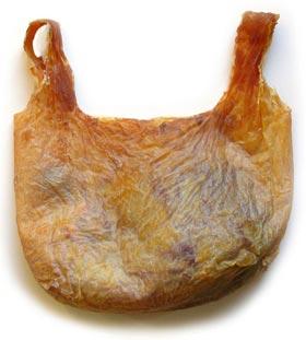 Un sac en peau humaine !